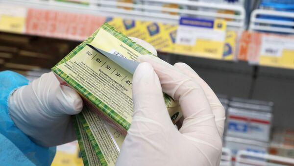 Проверка продукции в магазине, фото из архива - Sputnik Азербайджан