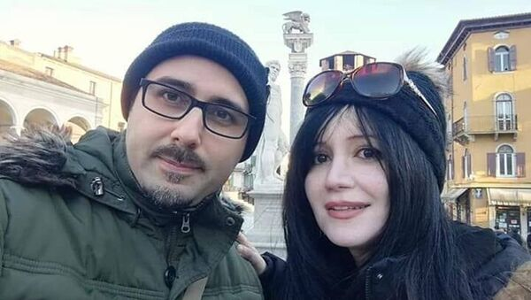 Кямаля Ализаде и Стефано Мускаритоло - Sputnik Азербайджан