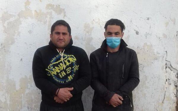 Задержанные на границе два гражданина Ирана - Sputnik Азербайджан