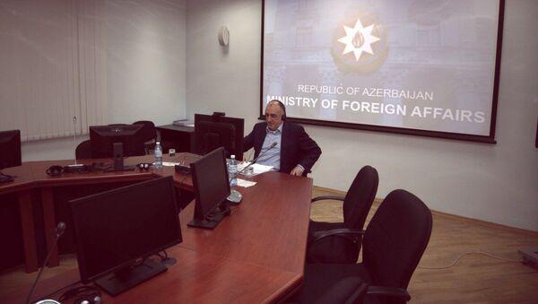 Министр иностранных дел Азербайджана Эльмар Мамедъяров - Sputnik Азербайджан