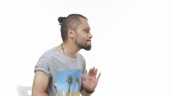 Азербайджанский музыкант, продюсер Фарид Джафаров, фото из архива - Sputnik Азербайджан
