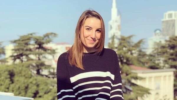 Диана Фалавандишвили, фото из архива - Sputnik Азербайджан