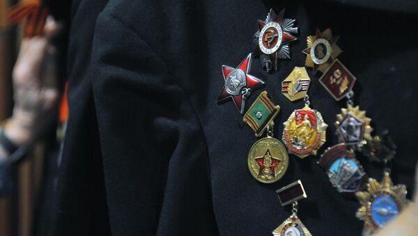 Награды ветерана Великой Отечественной войны, фото из архива - Sputnik Азербайджан