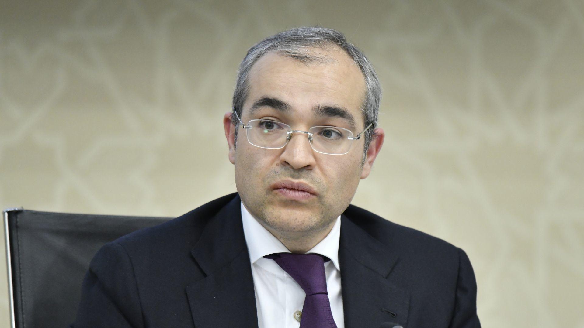 Министр экономики Микаил Джаббаров - Sputnik Азербайджан, 1920, 23.09.2021