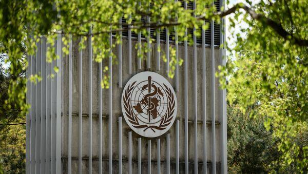 Логотип Всемирной организации здравоохранения - Sputnik Azərbaycan