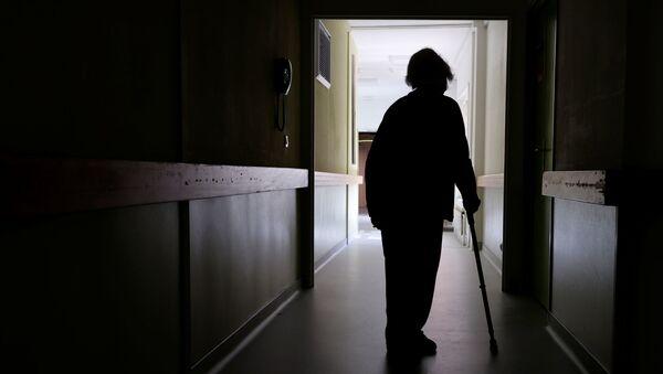 Человек с ограниченными возможностями, фото из архива - Sputnik Азербайджан