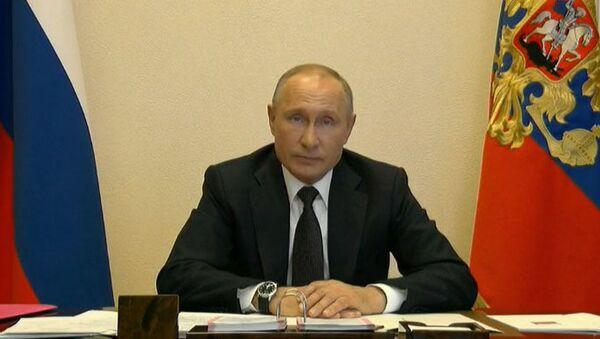 LIVE_Спутник: Совещание президента России Владимира Путина с главами регионов  - Sputnik Азербайджан