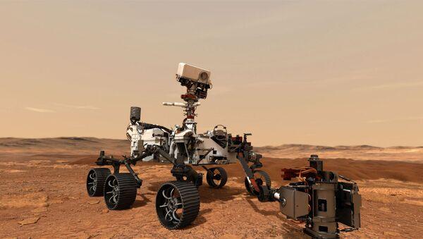 Впервые марсианский грунт может оказаться на Земле - Sputnik Азербайджан