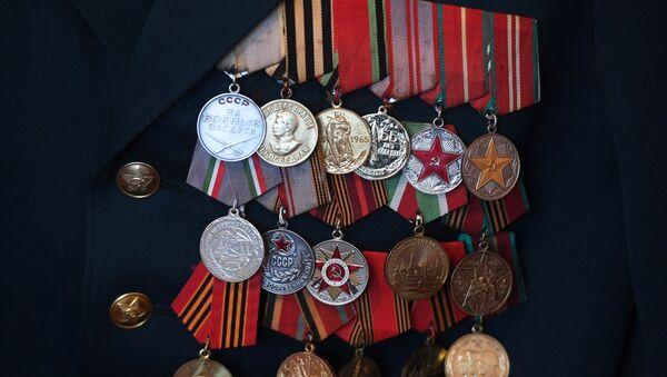 Награды ветерана Великой Отечественной войны - Sputnik Азербайджан