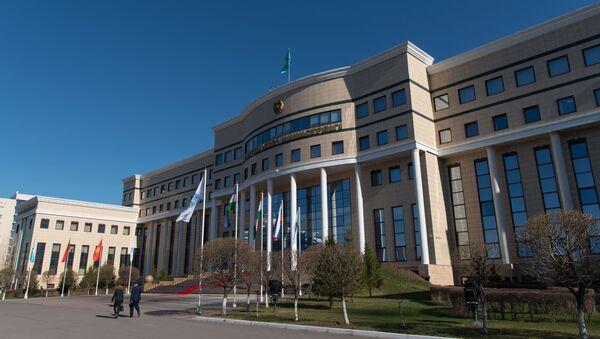 Здание Министерства иностранных дел Республики Казахстан, фото из архива - Sputnik Азербайджан