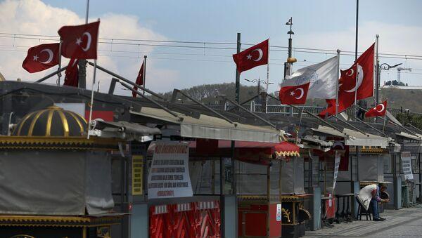 Ситуация в связи с эпидемиологической обстановкой в Стамбуле - Sputnik Azərbaycan