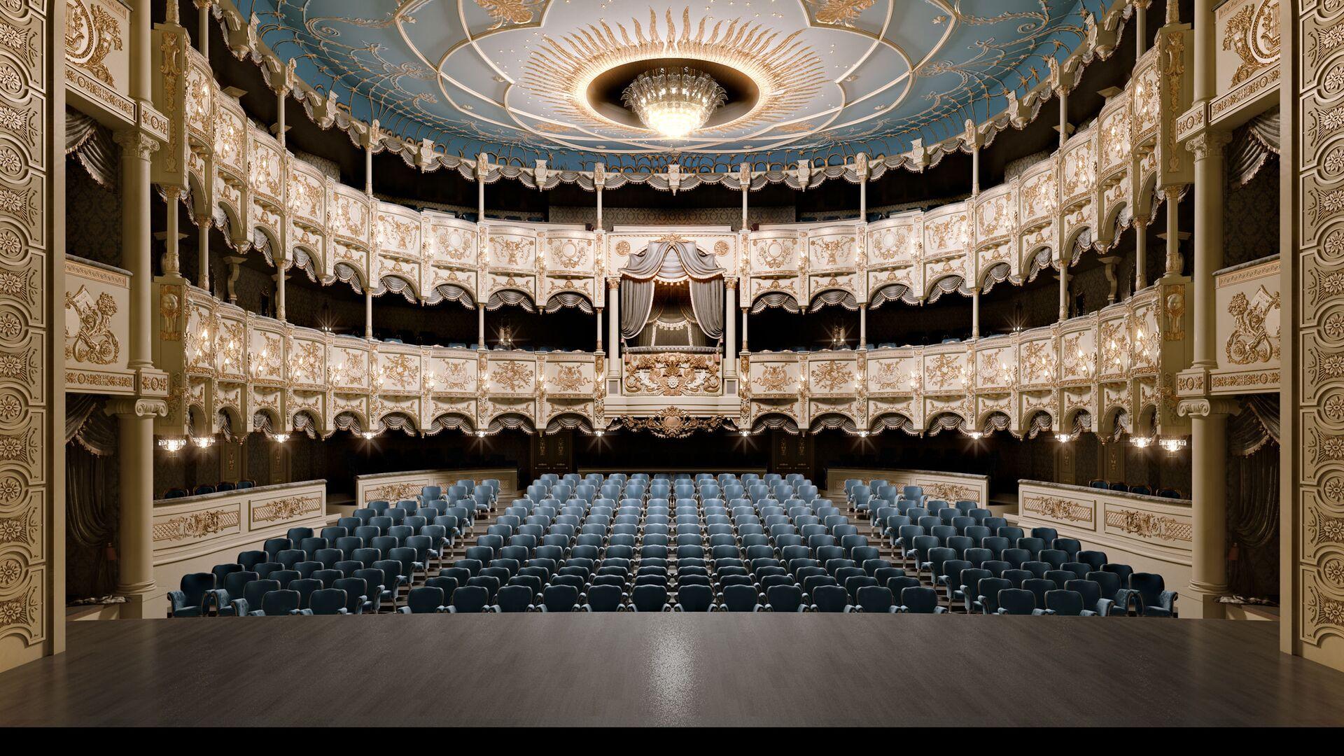 Азербайджанский Государственный Музыкальный Театр - Sputnik Azərbaycan, 1920, 23.09.2021
