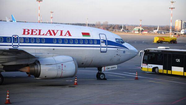 Самолет Boeing 737-500 авиакомпании Белавиа, фото из архива - Sputnik Азербайджан