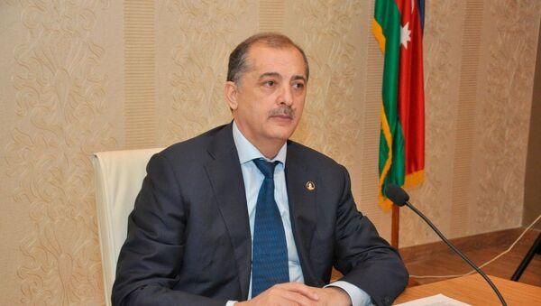 İmişli Rayon İcra Hakimiyyətinin (RİH) başçısı Vilyam Hacıyev, arxiv şəkli - Sputnik Azərbaycan