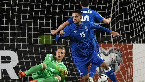 Azərbaycan millisinin futbolçusu Dmitri Nazarov (13), arxiv şəkli - Sputnik Азербайджан