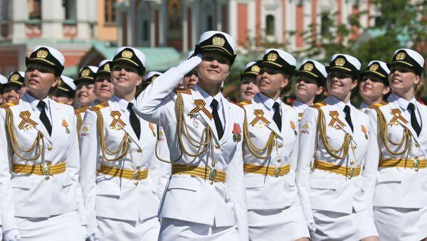 Военный парад в честь 71-й годовщины Победы в ВОВ - Sputnik Азербайджан