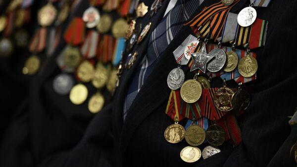 Медали участников Великой Отечественной войны - Sputnik Азербайджан