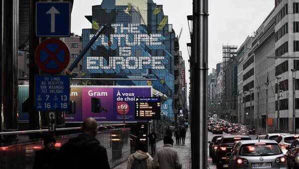 Офис Евросоюза в Брюсселе, фото из архива - Sputnik Азербайджан