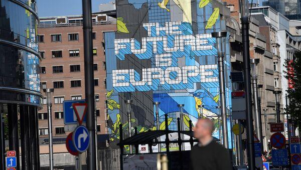 Офисы Евросоюза в Брюсселе, фото из архива - Sputnik Азербайджан
