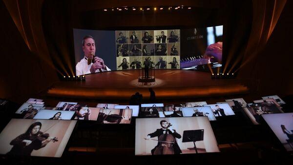 Онлайн-концерт памяти великого Гейдара Алиева  - Sputnik Азербайджан