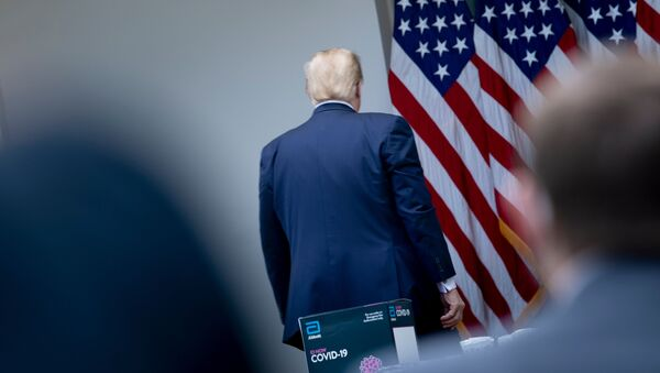 Президент США Дональд Трамп, фото из архива - Sputnik Azərbaycan