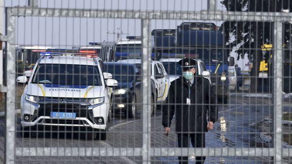 Полиция Украины, фото из архива  - Sputnik Азербайджан