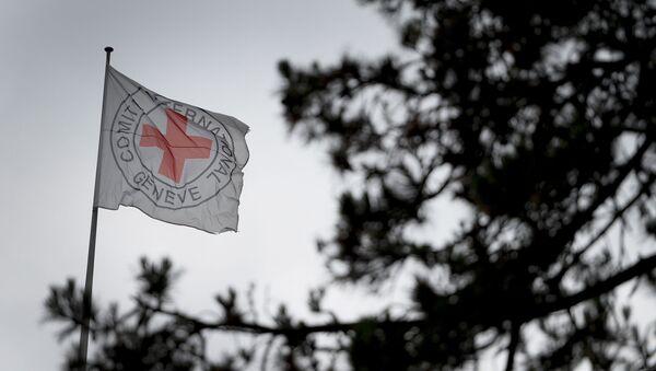 Красный крест, фото из архива - Sputnik Азербайджан