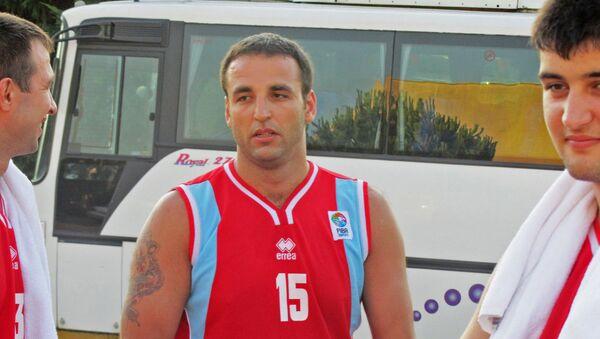 Старший тренер юношеской сборной Азербайджана по баскетболу Таир Бахшиев, фото из архива - Sputnik Азербайджан