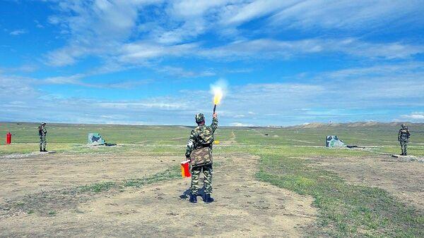 Naxçıvan Qarnizonu Qoşunlarında təlim-metodiki toplantı - Sputnik Азербайджан