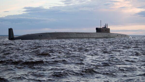 Подводный крейсер Князь Владимир возобновил заводские ходовые испытания - Sputnik Azərbaycan
