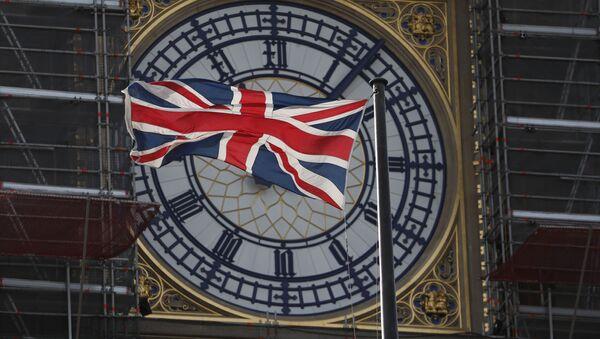 Флаг Великобритании, фото из архива - Sputnik Азербайджан