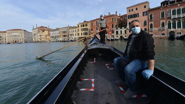 Ситуация в Венеции, фото из архива - Sputnik Azərbaycan