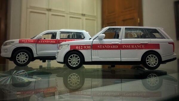 Игрушечные автомобили  ОАО Standard Insurance, фото из архива - Sputnik Азербайджан