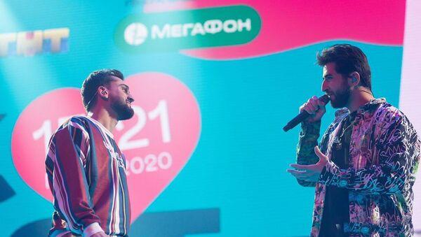 Эльман Зейналов и JONY (Джахид Гусейнли) на фестивале VK Fest - Sputnik Азербайджан