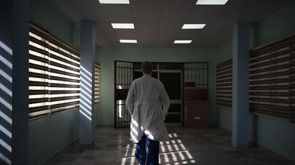 Врач одной из поликлиник, фото из архива - Sputnik Azərbaycan