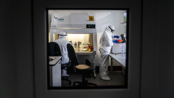 Тестирование на коронавирус, фото из архива - Sputnik Азербайджан