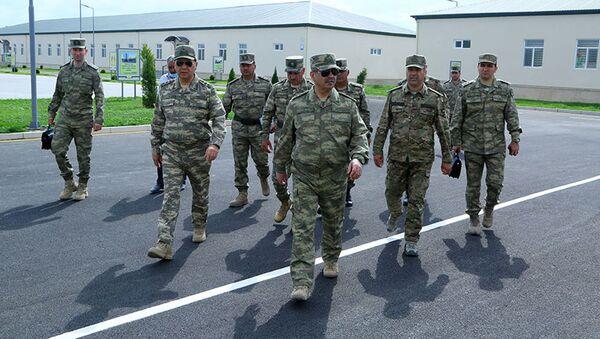 Закир Гасанов принял участие в открытии новых воинских частей - Sputnik Азербайджан