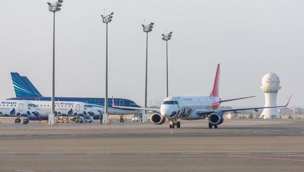 Самолеты ЗАО Азербайджанские авиалинии (AZAL) - Sputnik Azərbaycan