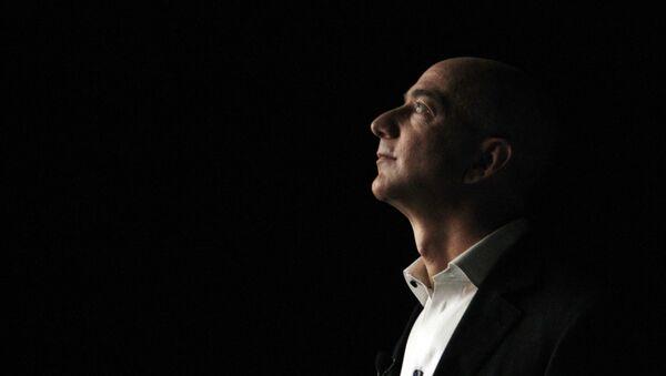 Глава и основатель интернет-компании Amazon Джефф Безос - Sputnik Azərbaycan
