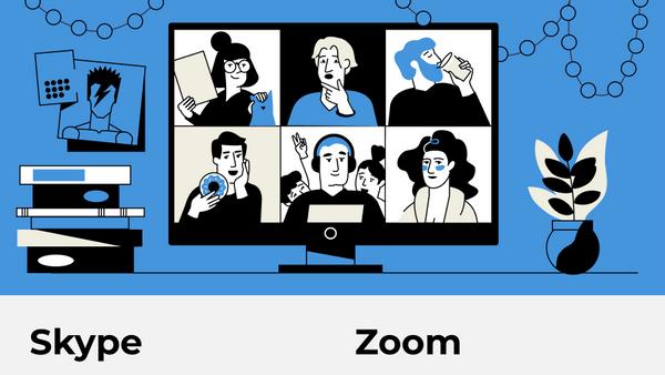 Skype vs Zoom: сравниваем возможности бесплатных видеоконференций - Sputnik Азербайджан