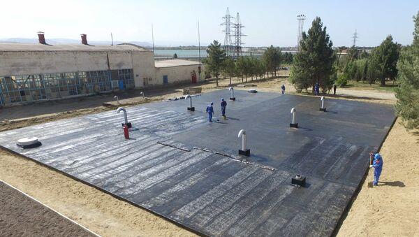 Реконструкция Джейранбатанского водохранилища - Sputnik Азербайджан