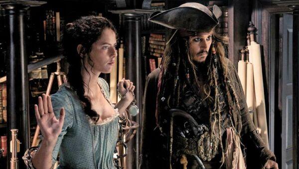 Фрагмент из фильма Пираты Карибского моря: Мертвецы не рассказывают сказки - Sputnik Azərbaycan
