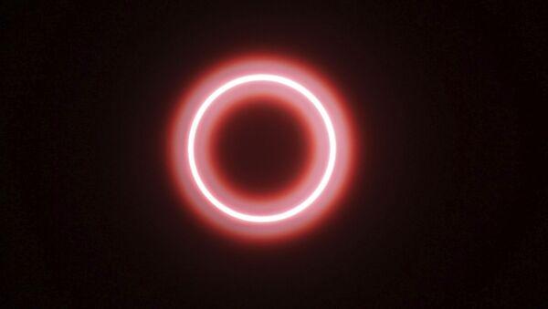 Солнечное затмение, фото из архива - Sputnik Azərbaycan