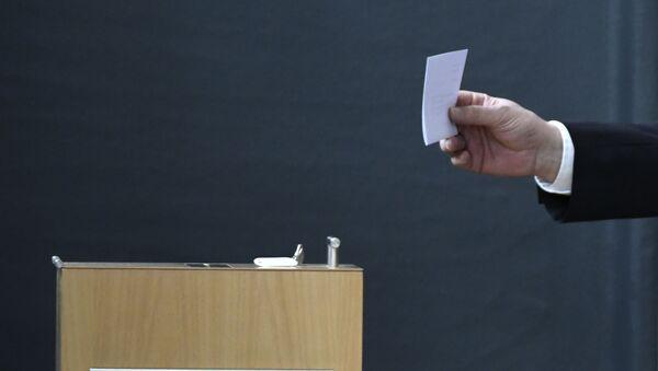 Выборы в Германии, фото из архива - Sputnik Азербайджан