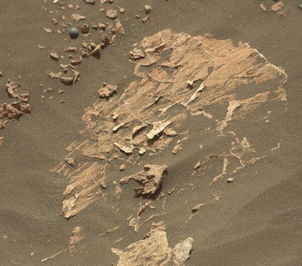 Конкремент маленького размера на поверхности Марса  - Sputnik Азербайджан