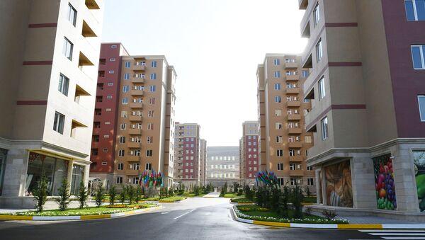 """Qobu Park-3"" yaşayış kompleksi  - Sputnik Азербайджан"