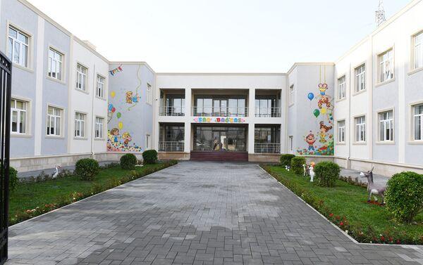 Детский сад в жилом комплексе Гобу Парк-3 в Гарадагском районе Баку - Sputnik Азербайджан