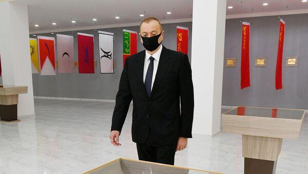 Prezident İlham Əliyev Tərtərdə - Sputnik Азербайджан