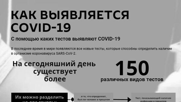 Инфографика: Рейтинг стран по числу тестов на COVID-19 - Sputnik Азербайджан