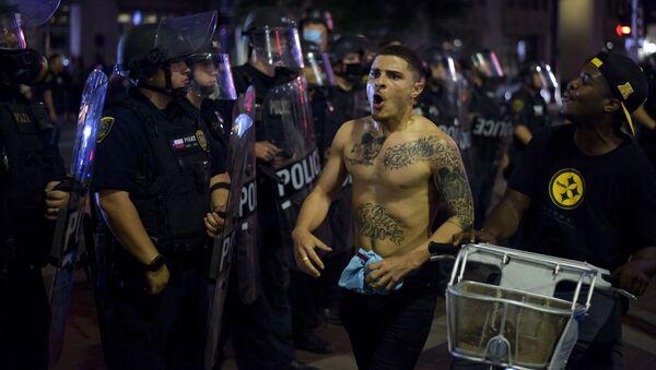 Протесты в США - Sputnik Азербайджан